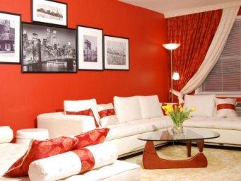 Красная гостиная